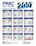 PMC year-on-a-page calendar
